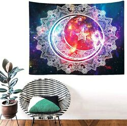 80quot; x 59quot; Celestial Wall Hanging Tapestry Art Decoration Living Room Picnic Mat