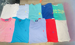 Polo Men's M Vintage Short/long Sleeve T-shirts And Pullover Lot 11