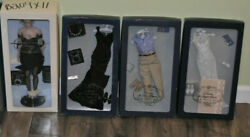 Franklin Mint Princess Diana Collection Glamour Doll Ltd Edtn, 3 Outfits, Trunk