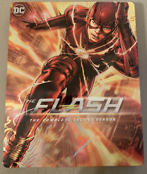 Dcandrsquos The Flash The Complete Second Season Blu-ray Best Buy Exclusive Steelbook