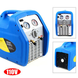 Portable Electric Rr250 Twin Cylinder/condenser Refrigerant Recovery Machine