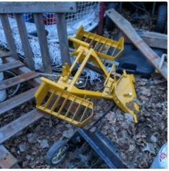 Walker Mower Snow Plow Mount/base It Just Needs The Blade Part To Complete