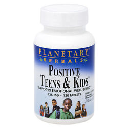 Positive Teens And Kids By Planetary Herbals - 120 Tablet