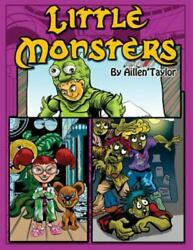 Little Monsters Coloring Book Brand New Free Shipping In The Us