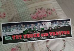 Hess Toy Truck And Tractor Flashers Lights Motorized Loader New Nib Toys