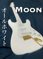 Moon St-c All Snow White Stratocaster Type