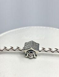 Authentic Pandora Dog House Charm With Gift Box