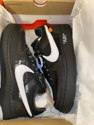 Nike Air Force 1 Low X Off-white Black 2018 The 10 Size 8 Halloween