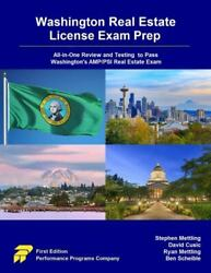 Washington Real Estate License Exam Prep All-in-one Review And Testing To Pa...