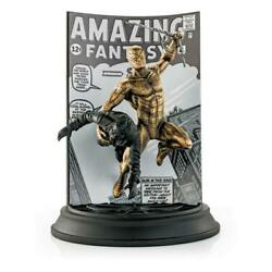 Marvel Pewter Collectible Statuen Regular And Gilt Spider-man Limited Edition 22 C