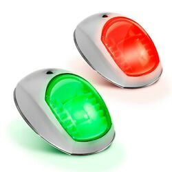 Led Navigation Side Port And Starboard Ss Aisi316 Lights Five Oceans Fo-2890