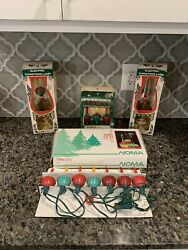 Vintage Noma Christmas Bubble Lights Plus Bubble Lamps And Replacement Bulbs