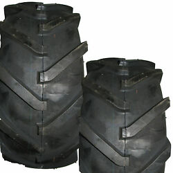2 16x6.50-8 Ditch Witch Trencher Farm Tractor Lug Tire 16x650-8 16/6.50-8 4ply