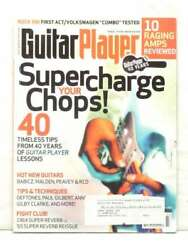 Guitar Player Supercharge Your Chops March 2007 Babicz Malden Peavy Rcd Guitars