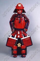 Japanese Iron And Silk Rüstung Samurai Knitted Armor Suit Wearable 018