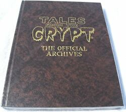 Tales From The Crypt Official Archives Hardcover Rare Hc Ec Limited To 500 Brown