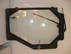 New Cab Enclosure Door For New Holland Skid Steer - Wiper And Motor