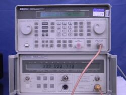 Agilent/hp 5347a 20ghz Microwave Counter/ Power Meter Working And Calibrated.