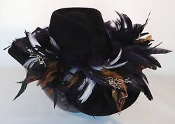 St. Louis Rams Feather Team Colors Cowboy Hat - 100 Gift Card With Purchase