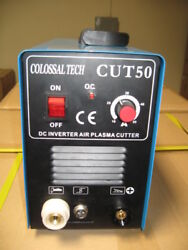 Plasma Cutter 50amp New Cut50 Inverter 220v Voltage Warranty And 60 Consumables