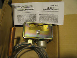 Detroit Switch Thermostatic Switch  222-10nl-2222495 Nsn 5930-01-064-9947