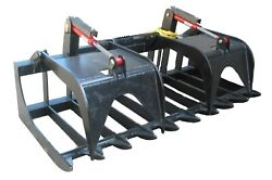 Bobcat Skid Steer Hd 68 Root Grapple Skidsteer Attachment Free Shipping
