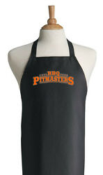 Bbq Pitmasters Black Barbecue Aprons For Grilling And Outdoor Cooking