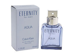 Eternity Aqua by Calvin For Klein Men 1.7 oz Eau de Toilette Spray Sealed $28.90