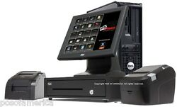 Aldelo Pos One Time Fee Restaurant Fast Food Complete I3 System 1 Station New