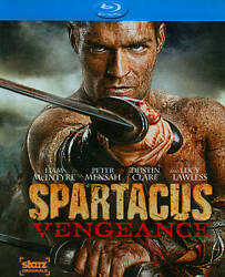 Spartacus Vengeance Complete Second Season 2 Two New 3-disc Blu-ray Set