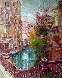 Marco Sassone Venice Reflections Serigraph Hand Signed Art Submit An Offer