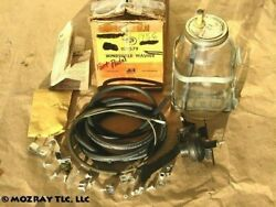 Pontiac Windshield Washer Package Catalina_chieftain_star Chief 1956 Nos