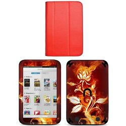 Genuine Leather Case Cover For Barnes Noble Nook Hd 7 Inch + Skin Accessory R03