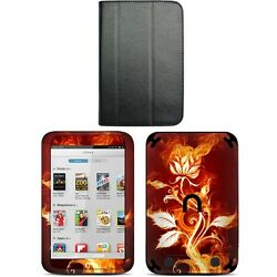 Genuine Leather Case Cover For Barnes Noble Nook Hd 7 Inch + Skin Accessory B03