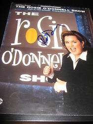 Rosie O'donnell Signed Autograph The Rosie Show Program In Person Coa Auto D