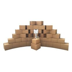 Uboxes Smart Moving Bigger Boxes Kit 3 - 40 Moving Boxes And Packing Supplies