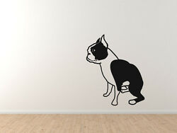 Show Dog Breeds - Boston Terrier - Vinyl Wall Decal