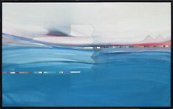 Daniel Lencioni Untitled 91218a Signed Original Painting, Ocean, Submit An Offer