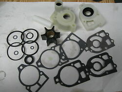 Water Pump Kit Mercruiser I/o 1 Units With Plastic Flush Screw In Gear Housing