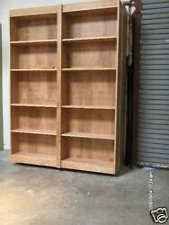 Murphy Panel Bookcase Bed Queen Do It Yourself Kit High Quality Birch Plywood
