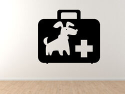 Dog 6 - Doggy Pet First Aid Veterinary Care Cartoon Puppy - Vinyl Wall Decal