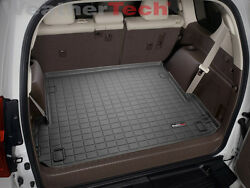 Weathertech Cargo Liner Trunk Mat For Lexus Gx With 3-zone 2010-2021 - Black