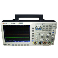 Owon Xds3064e 60mhz 4ch 8 Bitstouchscreen Low Noise Digital Oscilloscope