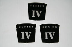 Sunbeam Alpine Series Iv Fender And Trunk Badges New Reproduction Set Of 3