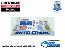 Auto Crane 366208000, Decal Layout Kit For 6006h Series Crane