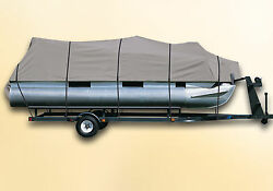 Deluxe Pontoon Boat Cover Avalon Catalina - 24 Foot