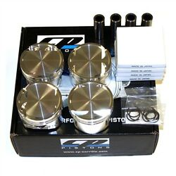 Cp Forged Pistons Sc7035 Honda H22a 89.00mm / 9.01 22mm Pin Prelude Accord