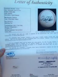 Derek Jeter Game Used Ball- Room 4 Dads Name -mlb Father Day _ Cant Get 4 Less