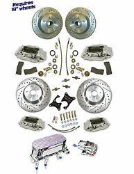 1960-87 Chevy Truck 14.5 Rotor Disc Brake System Stock Height