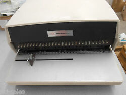 Gbc General Binding Corporation Electric Hole Punch W/foot Pedal Model 111pm-2